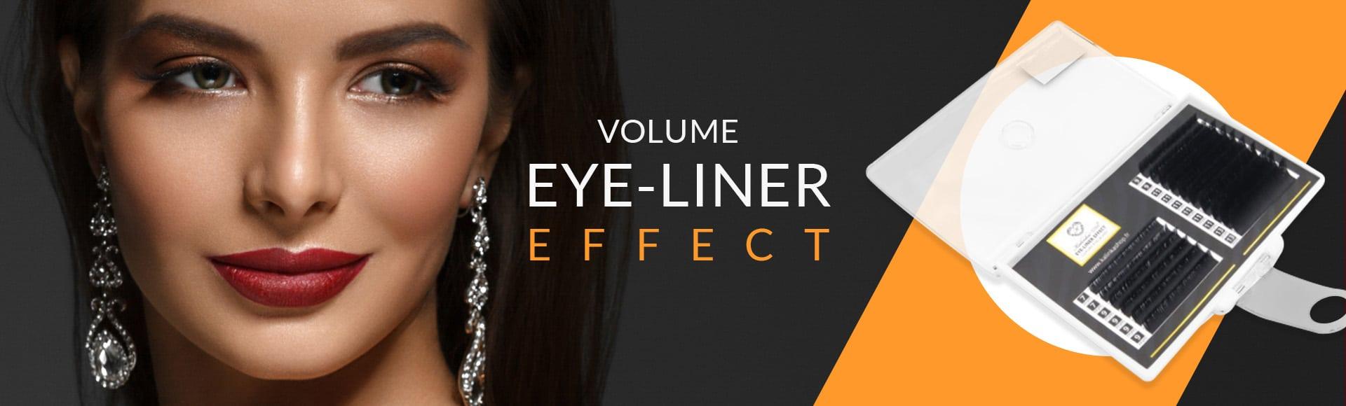 Eye liner effect